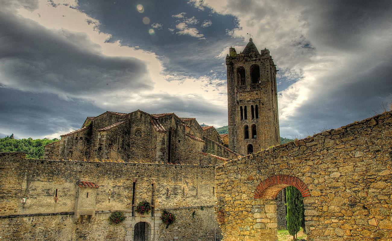 Eglise Saintes Juste et Ruffine - Prats de Mollo la Preste